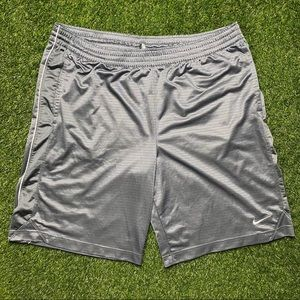 Nike Shorts Athletic Grey and White